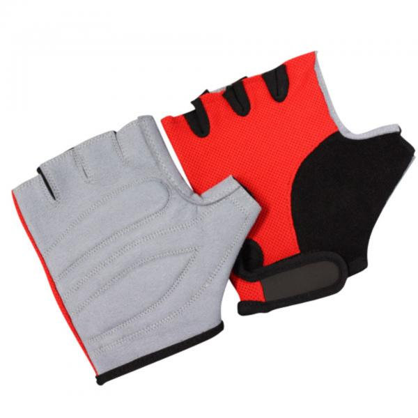 Bronx Red Grip Weight Lifting Glove