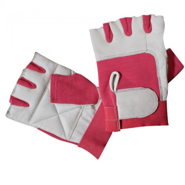 Bronx Pink Spandex Weight Lifting Glove