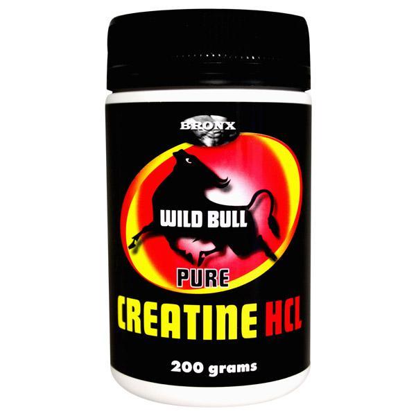 Bronx Wild Bull Pure Creatine HCL
